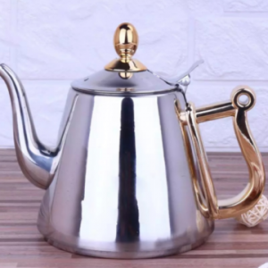1.5L Kettle Strainer Stainless Steel Teapot Polish Fashion Durable Coffee Cold Water Pot Home Tea Tool Induction Cooker Kettle discountshub