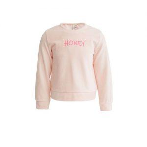 Defacto Girl Pink Regular Fit Crew Neck Clean Sweat Shirt discountshub