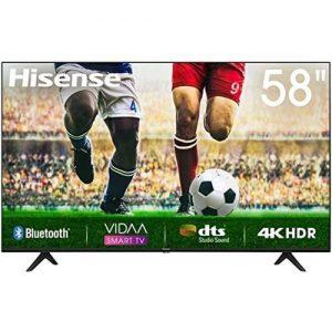 Hisense 58''Smart UHD 4K TV+Netflix,Youtube&DSTV Now APP-58A7100 discountshub
