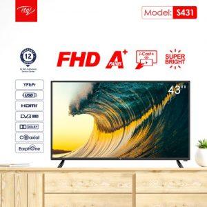 """Itel 43"""" ICAST DLED FULL HD TV discountshub"""