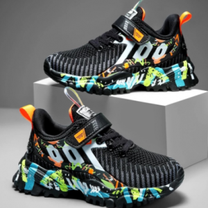 Kids Sport Shoes For Boys Running Sneakers Casual Sneaker Breathable Children's Fashion Shoes 2020 Autumn Platform Light Shoes discountshub