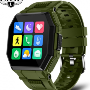 LIGE 2021 New Smart Watch Bluetooth Call Men Full Touch Sport Fitness Tracker Blood Pressure Heart Rate Smartwatch Music Control discountshub