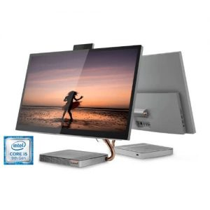 Lenovo Ideacentre A540-27ICB, AIO Intel Core I5-9400T, 8.0GB RAM, 128GB SSD Wins 10 -Grey discountshub