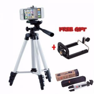 Lightweight Smartphone And Video Camera Tripod With Phone Holder discountshub