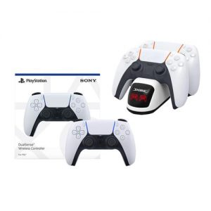 Playstation Sony PlayStation 5 Dual Sense Wireless Controller + Extra Fast Charger discountshub