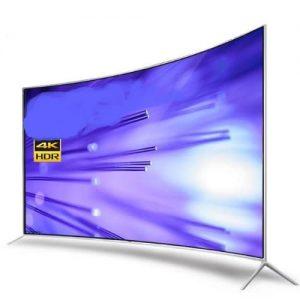 Spakler 65'' Smart Curved 4k Uled Tv discountshub