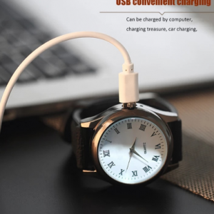 Watch Men Cigarette Lighter watches USB Charging Casual Quartz Wristwatches Flameless Replaceable heating wire Clock BL559 discountshub