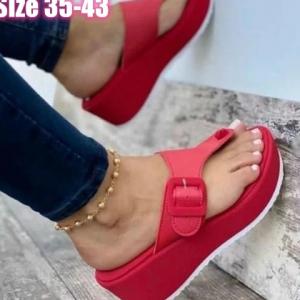 Women Wedges Sandals Summer Casual Clip Toe Flip Flops Women Platform Slipper Beach Sport Sandals Light Comfort Shoes Woman 2021 discountshub