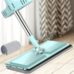 YOREDE Magic Self-Cleaning Squeeze Mop Microfiber Spin And Go Flat Mop For Washing Floor Home Cleaning Tool Bathroom Accessories discountshub