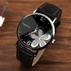 Yazole Ladies Wrist Watch Women Famous Female Quartz Watch Hodinky Quartz-watch Montre Femme discountshub