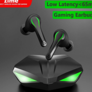 Zime Winner Gaming Earbuds 65ms Low Latency TWS Bluetooth Earphone with Mic Bass Audio Sound Positioning PUBG Wireless Headset discountshub
