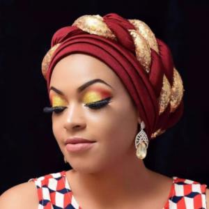 2021 Fashion African Auto Gele Headtie Sequins Braids Women's Turban Cap Muslim Headscarf Bonnet Ready to Wear Hijab Wedding Hat discountshub
