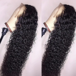 30 Inch Water Wave Lace Front Wig Curly Human Hair Wig Brazilian Deep Wave Closure Wigs For Women Hd Frontal Wet and Wavy Remy discountshub