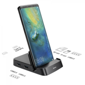 Baseus Type C HUB Docking Station For Samsung S20 S10 Dex Pad Station USB C To HDMI-compatible Dock Power Adapter For Huawei P30 discountshub