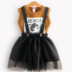 Bear Leader Children Clothing Summer Toddler Girls Clothes T-shirt Skirt 2pcs Outfit Suit Kids Clothes for Girls Clothing Sets discountshub