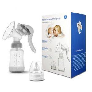 Breast Pump With Milk Bottle - Manual discountshub