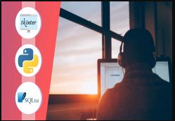 Building Desktop Application with Tkinter and SQLite3 - Python GUI Programming discountshub