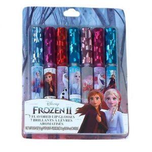 Disney Frozen II 7 Flavoured Lip Glosses discountshub