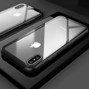 FLOVEME Tempered Glass Phone Case for iPhone 7 X XS 0.7MM Protective Mobile Phone Cover Cases for iPhone 7 8 Plus 6 6s XS Max XR discountshub