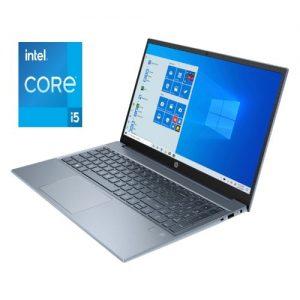 HP Pavilion 15-eg0153nia,Intel® Core™ i5-1135G7, 8GB RAM 512GB SSD,Wins10 - FOG BLUE (2T1C2EA) discountshub