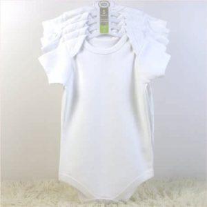 Luvable Friends 5 Set White Body Suit discountshub
