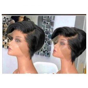 Luxury Short Lace Frontal Hair Wig discountshub