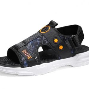 Men Casual Printing Pattern Light Weight Opened Toe Hook Loop Sport Sandals discountshub
