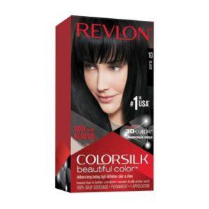 Revlon Colorsilk Beautiful Hair Color - 10 Black discountshub