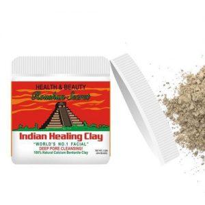 Roushun Secret Indian Healing Clay Mask, Deep Pore Cleansing Aztec discountshub