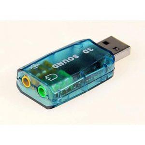 USB 3D Sound Card Adaptor discountshub
