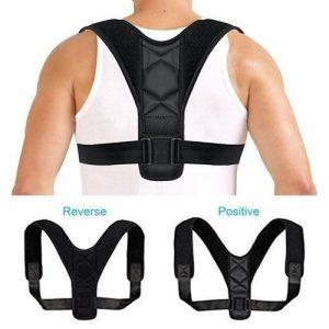 Posture Corrector Adjustable Clavicle Back Support discountshub