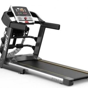 2HP Treadmill With Massager And Dumbbell 110kg User Weight discountshub