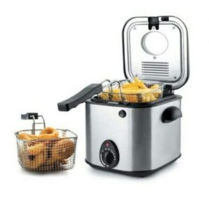 900W Quigg Mini Deep Fryer -1.5litres discountshub