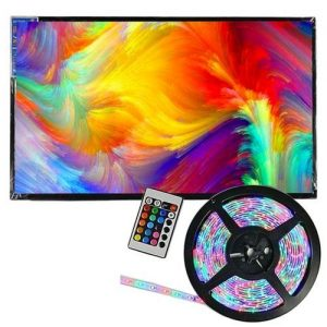 AILYONS 32inch FULL HD LED With Free LED Strip Lights discountshub