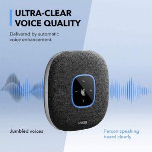 Anker Powerconf S3 Bluetooth Speakerphone With 6 Mics discountshub