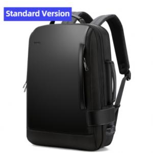 BOPAI Brand Enlarge Backpack USB External Charge 15.6 Inch Laptop Backpack Shoulders Men Anti-Theft Waterproof Travel Backpack discountshub