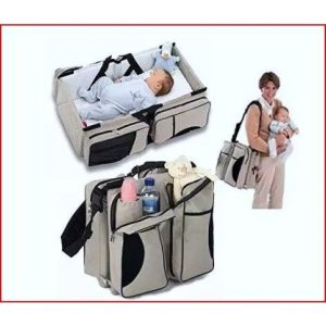 Baby Bed/diaper Bag & Travel Bag discountshub