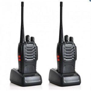 Baofeng Walkie Talkie Radio Communicator BF-888S - 2pcs discountshub