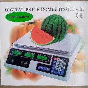 Camry 30kg - 40kg Digital Pricing Scale. (rechargeable) discountshub
