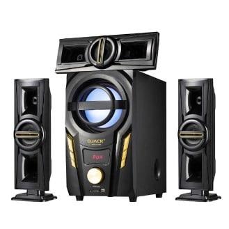 Djack Powerful 3.1ch Bluetooth Home Theatre System - Dj-703a discountshub