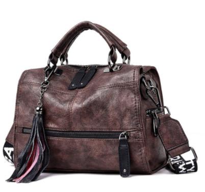 Genuine Vintage Leather Tassel Luxury Handbags Women Bags Designer Handbags High Quality Ladies Hand Shoulder Bag For Women 2021 discountshub