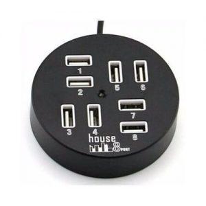 House 8 Port USB discountshub