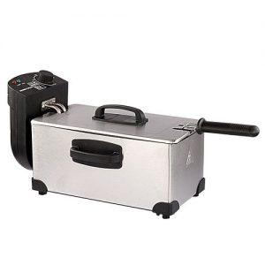Master Chef Stainless Steel Electric Deep Fryer discountshub