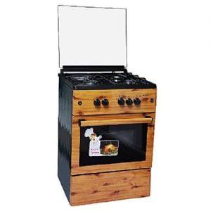 Maxi 60 X 60 (3g+1e) Gas Cooker - Wood discountshub