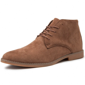 Men British Stylish Suede Comfy Soft Lace Up Casual Ankle Chukka Boots discountshub