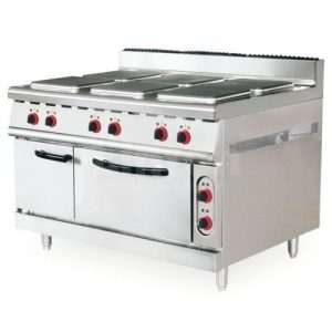 New Industrial Electric 6 Hot Plate Cooker With Oven discountshub
