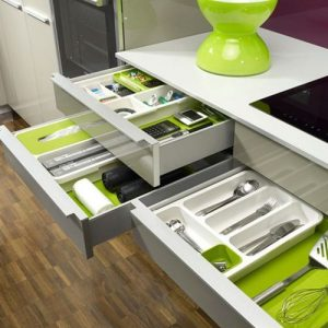 New Kitchen Office Drawer Store Expandable Cutlery Tray Organiser discountshub