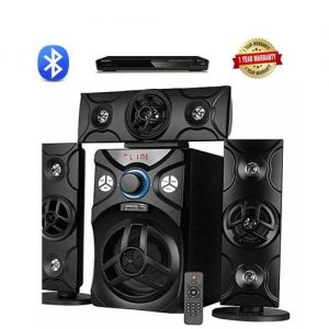 POWERFUL HOME THEATRE SYSTEM WITH BLUETOOTH + DVD PLAYER discountshub