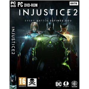 Warner Bro. Injustice 2: Legendary Edition PC Game DVD Disks + Free Gift. discountshub