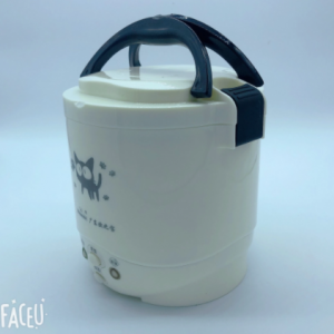 1L Rice Cooker Used in House 220v or Car 12v to 24v Enough for Two Persons with English Instructions discountshub